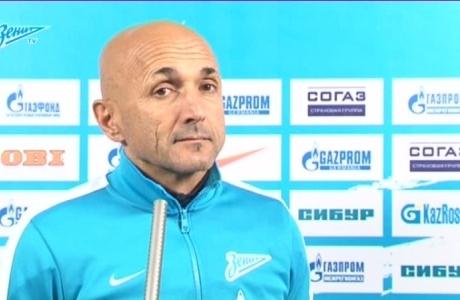 Пресс-конференция Лучано Спаллетти перед матчем со ЦСКА