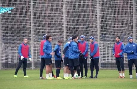 «Зенит-ТВ»: тренировка перед «Амкаром»