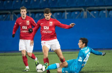Первенство команд второго дивизиона, зона «Запад», «Русь» — «Зенит»-2