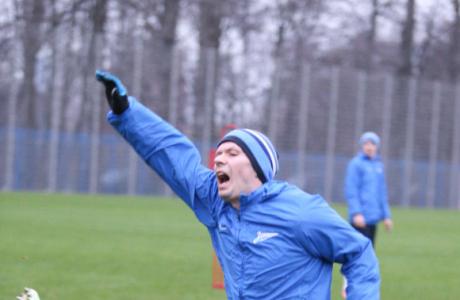 Тренировка «Зенита» перед матчем «Зенит» — «Ростов»