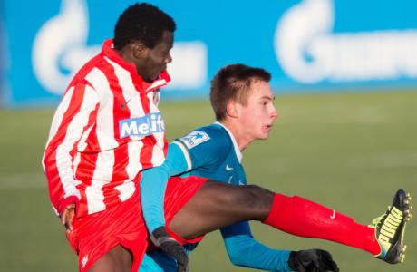 Юношеская лига УЕФА 2013/2014, «Зенит» — «Атлетико»