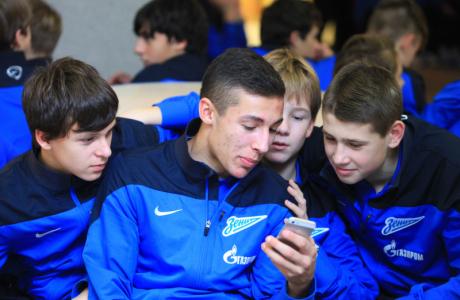 Закрытие сезона футбольной академии «Зенита»