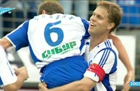 Первый гол в ворота «Томи» на «Петровском»