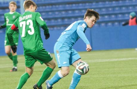 Первенство России среди молодежных команд «Зенит» — «Томь»