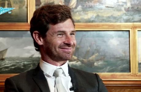 «Зенит-ТВ»: первое интервью Андре Виллаш-Боаша