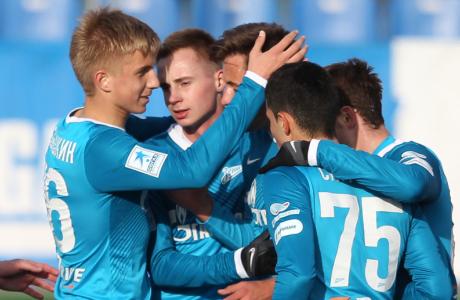 Первенство России среди молодежных команд «Зенит» — «Рубин»