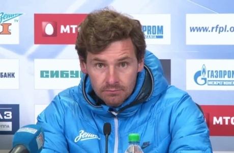 Пресс-конференция Андре Виллаш-Боаша после матча с «Краснодаром»