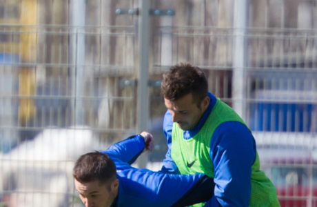 Открытая тренировка «Зенита» перед матчем с «Анжи»