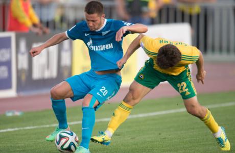 СОГАЗ-Чемпионат России 2013/2014, «Кубань» — «Зенит»