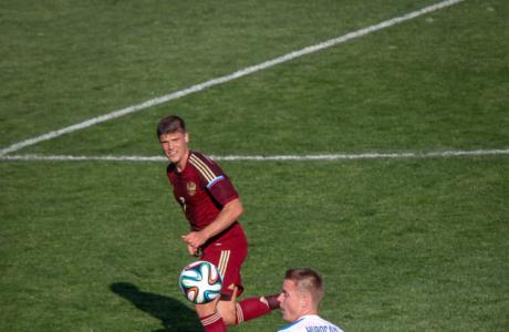Товарищеский матч по футболу Россия — Словакия