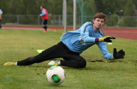 Тренировка «Зенита»-2 в Финляндии 4 июля