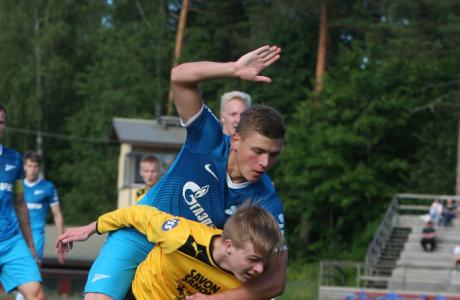 Товарищеский матч «Зенит»-2 — КуПС (Финляндия).