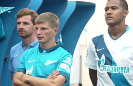 «Зенит-ТВ»: сине-бело-голубые представили новую форму