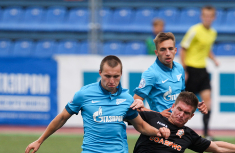 Первенство ПФЛ России, 2014/15, «Зенит»-2 — «Солярис» (Москва)