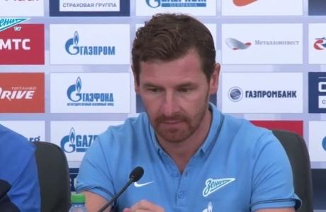 Пресс-конференция Андре Виллаш-Боаша после матча с «Амкаром»