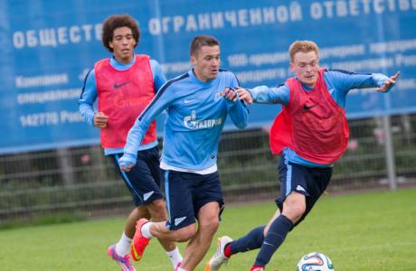 Открытая тренировка «Зенита» перед матчем с «Локомотивом»