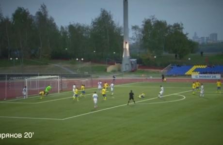 Голы матча «Строгино» — «Зенит»-2