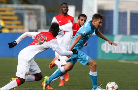Юношеская лига УЕФА, 2014/15, «Зенит» — «Монако»
