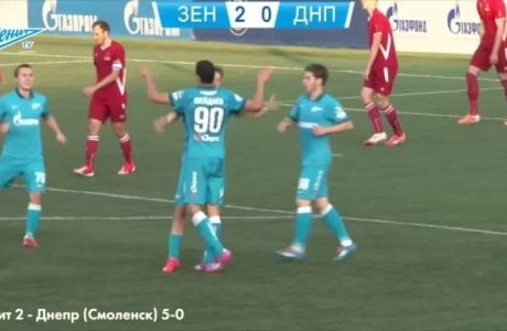 Голы нападающего «Зенита»-2  Рамиля Шейдаева