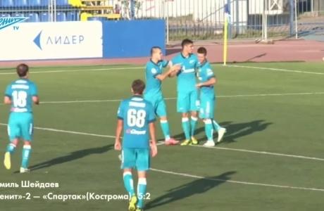 TOP5 голов «Зенита»-2 в первом круге чемпионата