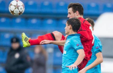 Юношеская Лига чемпионов УЕФА, 2014/15, «Зенит» — «Байер»
