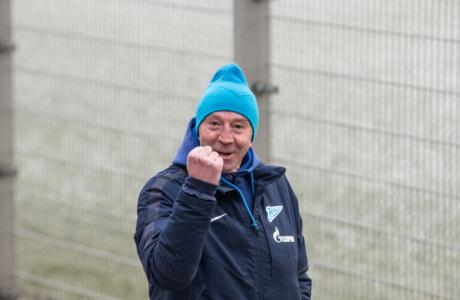 Тренировка  «Зенита» перед матчем «Зенит» — «Кубань»