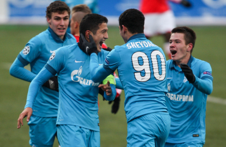 Юношеская лига УЕФА 2014, «Зенит» — «Бенфика»