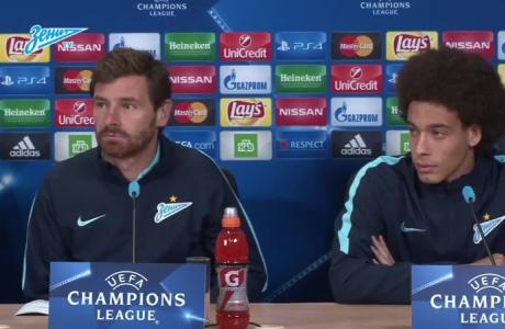 Пресс-конференция Витселя и Виллаш-Боаша перед матчем с «Лионом»