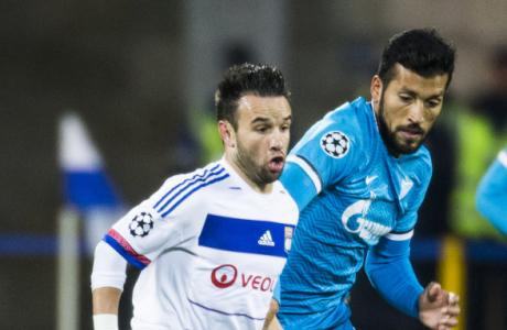 Лига Чемпионов УЕФА 2015/16, «Зенит» — «Лион»