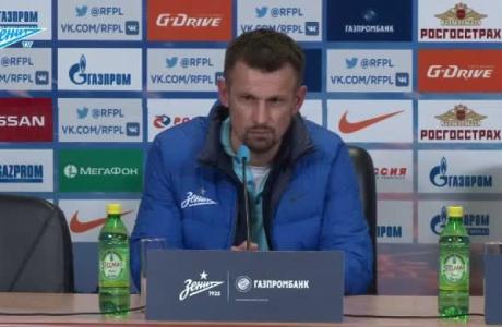Пресс-конференция Сергея Семака после матча с «Анжи»