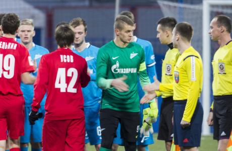 РОСГОССТРАХ-Первенство молодежных команд 2015/16, «Зенит» — «Мордовия»