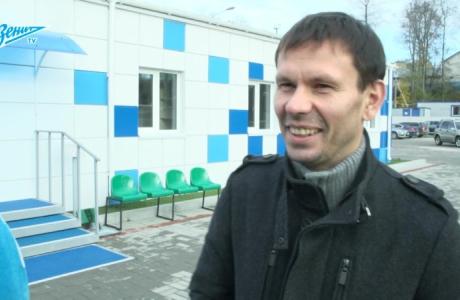 Интервью Константина Зырянова перед матчем с «Байкалом»