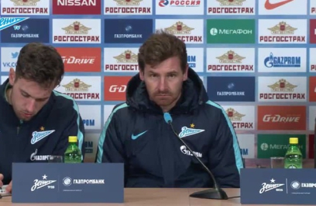 Пресс-конференция Андре Виллаш-Боаша после матча с «Мордовией»
