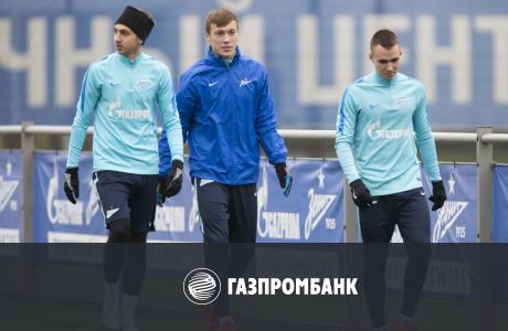 Открытая тренировка «Зенита» перед матчем с «Уралом»