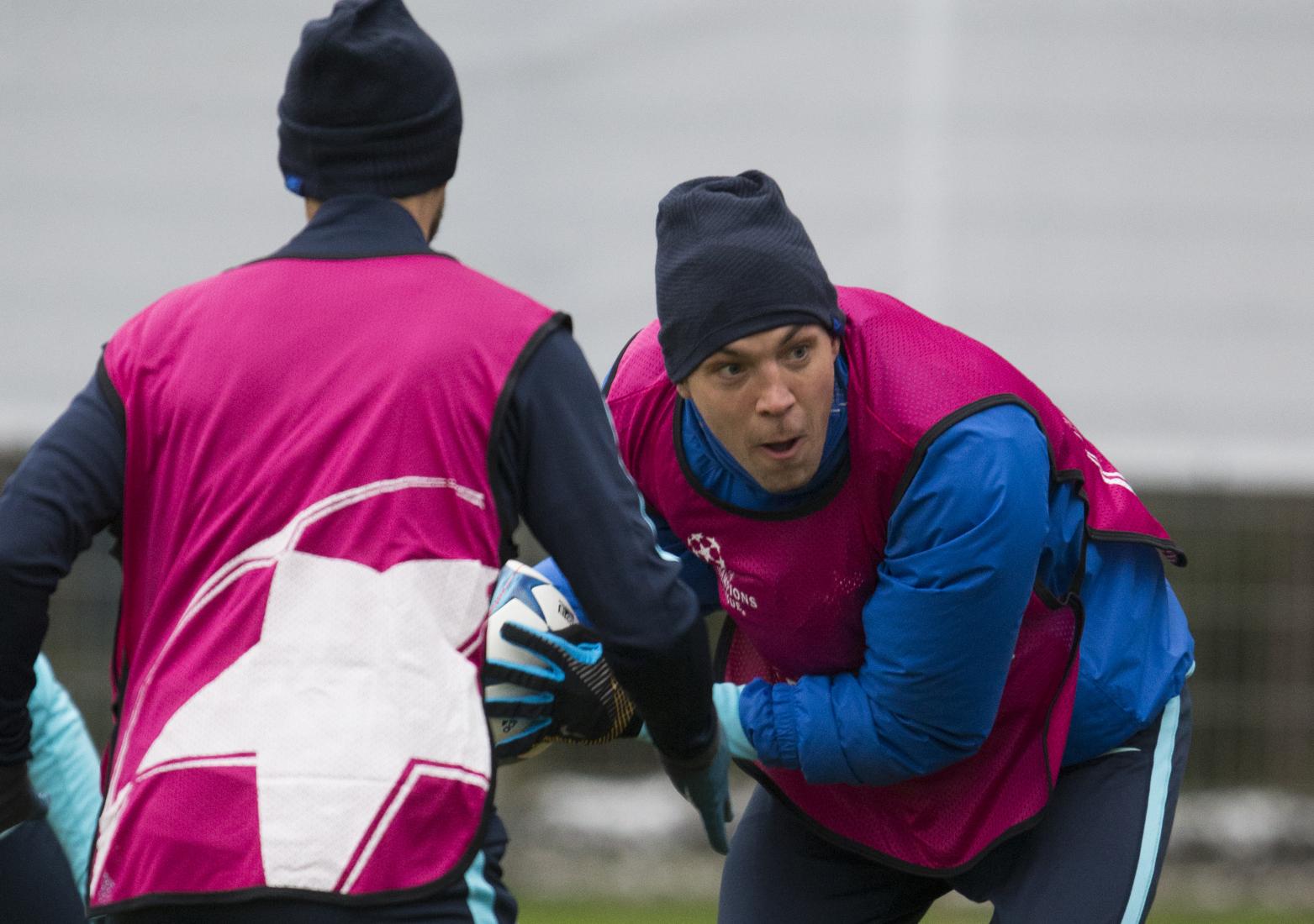 «Зенит» провел тренировку в преддверии встречи с «Валенсией»