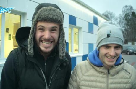 Игроки «Зенита-2» поздравили Владислава Радимова с Днем рождения