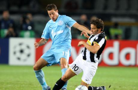 Лига Чемпионов УЕФА 2008. Матч Ювентус — Зенит