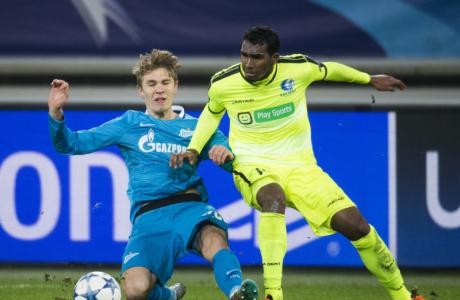 Лига Чемпионов УЕФА 2015/16, «Гент» — «Зенит»
