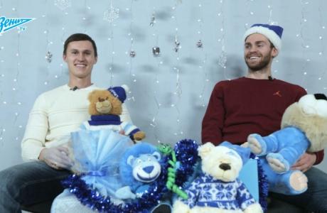 Новогодние дуэли на «Зенит-ТВ»: Рязанцев VS Ломбертс