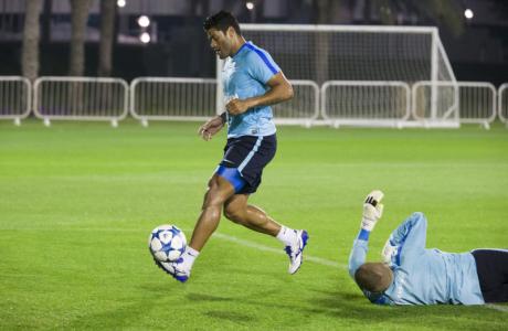 «Газпром»-тренировочные сборы в Дохе: 15 января, вечерняя тренировка
