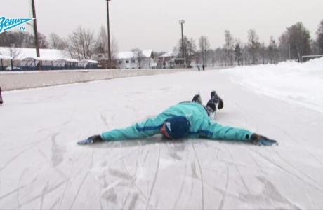 Самое холодное видео года: ледяная тренировка «Зенита»-2