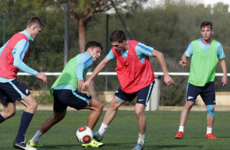 Тренировка «Зенита»-2 в Кадисе 25 января 2016 года