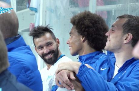 Скрытая камера «Зенит-ТВ» на матче с «Брондбю»