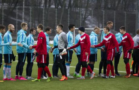 Товарищеский матч «Зенит»-2 — «Нарва-Транс»