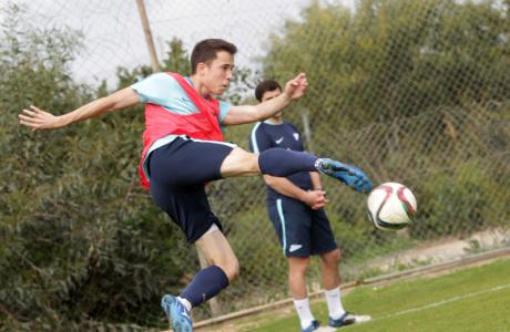 Тренировка молодежного состава «Зенита» на Кипре 13 февраля 2016 года