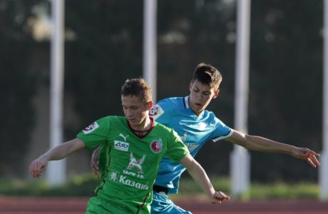 Товарищеский матч на Кипре «Зенит»-м — «Рубин»-м