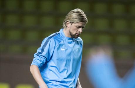 Тренировка «Зенита» перед матчем Лиги чемпионов УЕФА 2014/15, «Монако» — «Зенит»