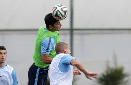 Тренировка «Зенита»-2 в Турции 9 февраля 2015 года
