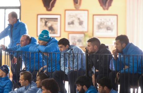 Сборы в Испании: 10 февраля, «Зенит» на ферме «Лос Альбухерос»