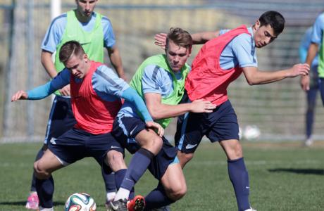 Тренировка «Зенита»-2 в Турции 13 февраля 2015 года